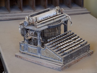 Typewriter from Bodie