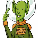 Cartoon of AstroGremlin