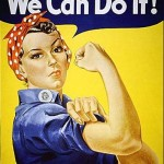 Picture of Rosie the Riveter for how not to be a knucklehead