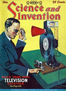 Magazine cover of inventor for unsuccessful exercise machines through history