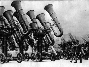 Photo of giant tubas