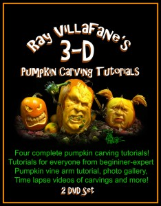 pumpkin carving tutorials DVD cover