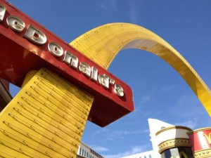 Best Sample Product Review shows Photo of Las Vegas McDonalds